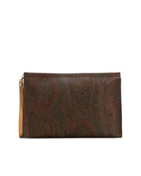 Etro Paisley Patterned Clutch Bag