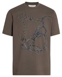 Z Zegna Photographic Print T Shirt