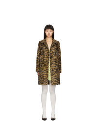 Ashley Williams Brown Tiger Dolly Coat