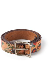 DSquared 2 Animal Print Belt