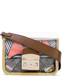 Furla Printed Cross Body Bag