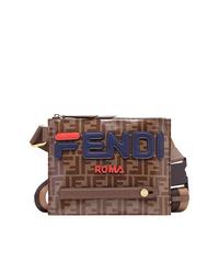 Fendi Mania Logo Messenger Bag