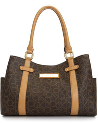 Hudson monogram satchel medium 113924
