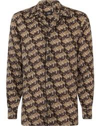 Fendi Roma Amor Pattern Shirt