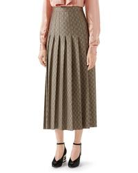 bf5ba50972a8b7 Women's Midi Skirts by Gucci | Women's Fashion | Lookastic.com