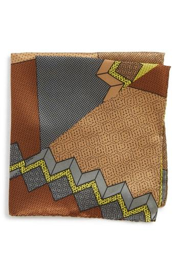 MEMPHIS GROUP Memphis Milano Pochette Silk Pocket Square