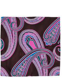 Prada Silk Printed Pocket Square