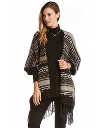 Blanket poncho style cardigan medium 349228