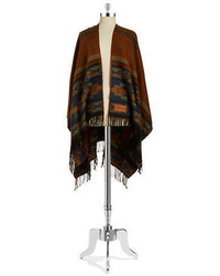 Ki Boots Fringed Tribal Poncho