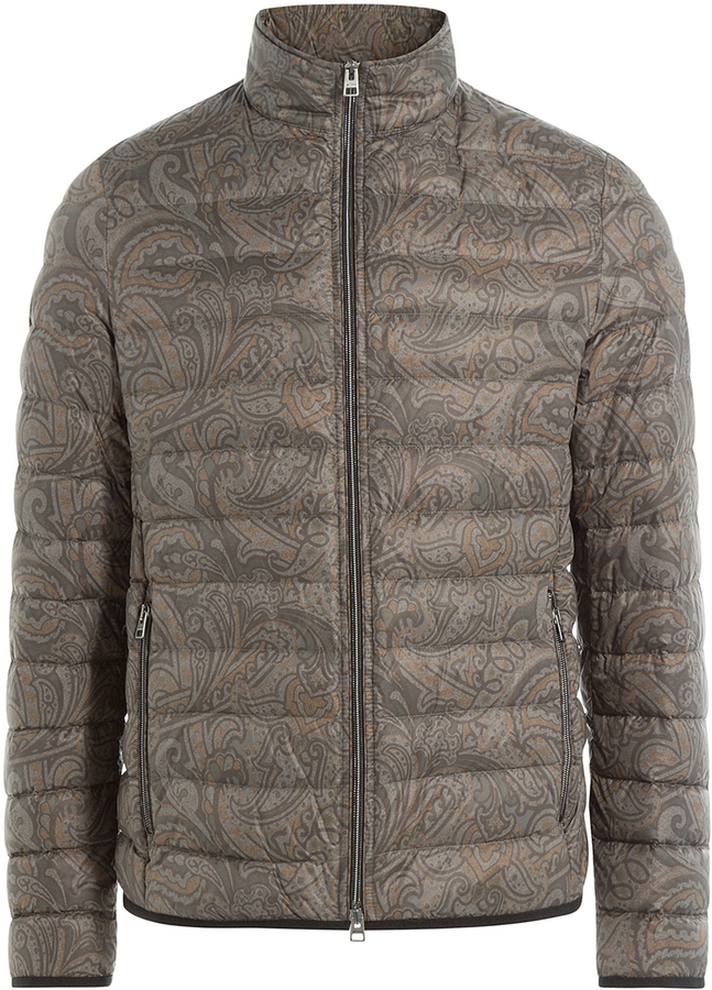 Etro Paisley Print Down Jacket | Where to buy & how to wear