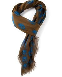Alexander mcqueen skull scarf medium 167905