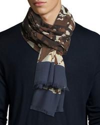 Cloud print cashmere scarf medium 5207198