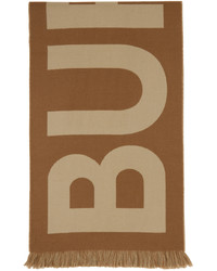 Burberry Wool Jacquard Logo Scarf