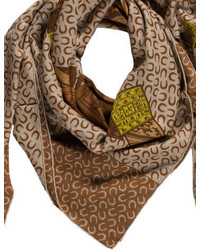 Hermes Herms Cashmere Silk Shawl