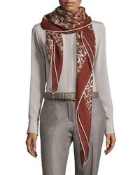 Rose sauvage berbre cashmere silk shawl medium 791061