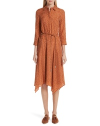 Lafayette 148 New York Rizzo Brilliant Boxes Shirtdress