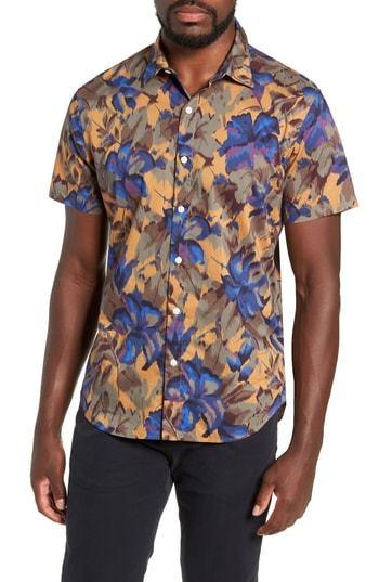 f5d33028 Bonobos Riviera Slim Fit Sport Shirt, $88 | Nordstrom | Lookastic.com