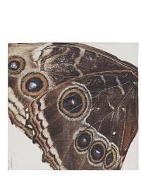 Givenchy Butterfly Print Silk Chiffon Scarf