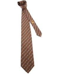 Gucci Vintage Printed Tie