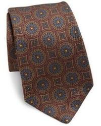Printed silk tie medium 788790