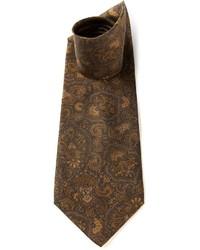 Valentino Vintage Paisley Print Tie