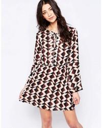 Lace front skater dress medium 1009370
