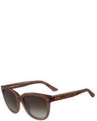 Etro Graphic Square Sunglasses