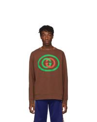 Gucci Brown Gg Sweatshirt