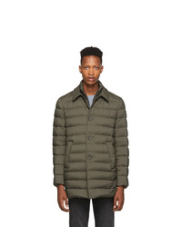 Herno Brown Down Limpermeable Coat