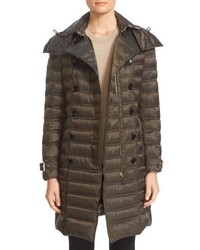 Burberry Chesterford Belted Double Breasted Down Coat
