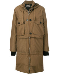 Marni Padded Layered Coat