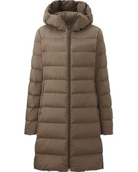 Uniqlo Ultra Light Down Stretch Hooded Coat