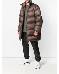 Rick Owens Zipped Padded Coat