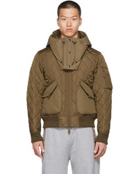 Burberry Brown Quilted Hadley Jacket