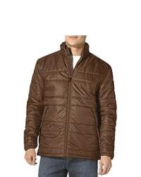 Prana Zane Puffer Jacket Insulated Brown