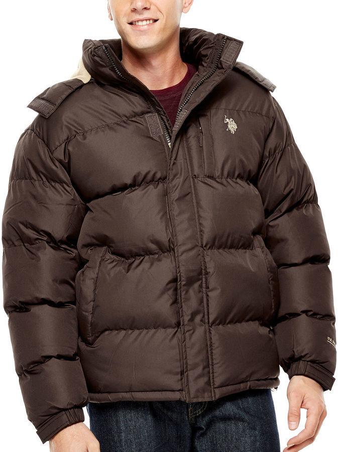 ... Uspa Us Polo Assn Fleece Lined Bubble Jacket