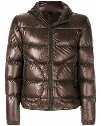 Wet look puffer jacket medium 6979315