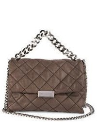Stella McCartney Becks Small Quilted Faux Leather Shoulder Bag