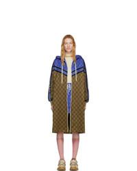 Gucci Beige Gg Coat
