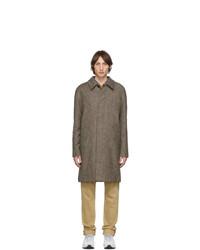 A.P.C. Brown Portobello Mac Coat