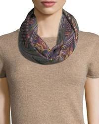 Etro Calcutta Cashmere Silk Scarf