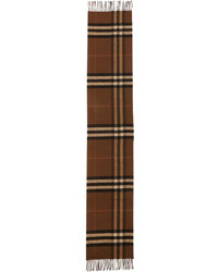Cashmere giant icon scarf brown medium 655247