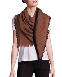 Bajra Dot Triangle Wool Scarf
