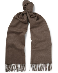 Fringed cashmere scarf medium 4948125