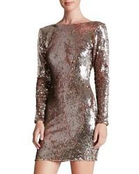 Dress the Population Lola Backless Sequin Minidress