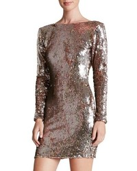 Lola backless sequin minidress medium 516906