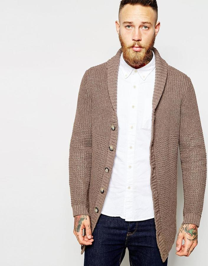 Asos Brand Longline Shawl Neck Cardigan | Where to buy & how to wear