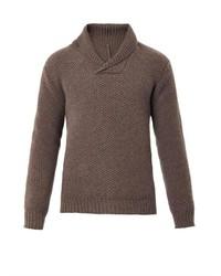 Richard James Shawl Neck Wool Sweater