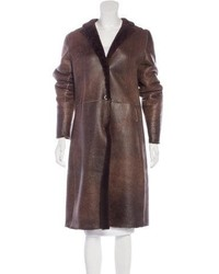 Jil Sander Shearling Long Coat