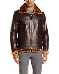 Andrew Marc Marc New York By Pilot Vintage Faux Shearling Jacket